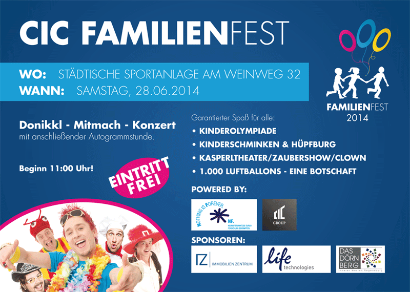 Charity Cup Familienfest